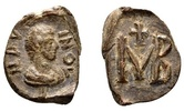 Marinos. Roman lead seal c. 5th century AD SS+  95.14 US$ 85,00 EUR  +  13.43 US$ shipping