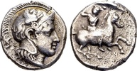 Thessaly, Pharsalos, AR Drachm (18mm, 6.04 g) Circa 425-404 BC SS  299.97 US$ 265,00 EUR  +  13.58 US$ shipping
