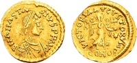 Anastasius AD 491-518, Gold Tremissis (15mm, 1.43 g) Constantinopoli... 371.83 US$ 325,00 EUR  +  13.73 US$ shipping