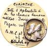 Korinth. AR Drachme (2.67 gram) c. 350-300 BC / Ex Chaponnière & Hes... 252.66 US$ 240,00 EUR  +  12.63 US$ shipping