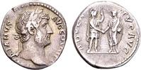 Hadrian AD 117-138, AR Denarius (17mm, 3.30 g) Rome AD 134-138 SS  89.48 US$ 85,00 EUR  +  12.63 US$ shipping