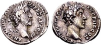 Antoninus Pius AD 138-161, with Marcus Aurelius Caesar, AR Denarius SS  89.48 US$ 85,00 EUR  +  12.63 US$ shipping