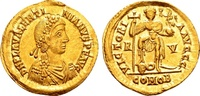 Valentinian III AD 425-455, Gold Solidus (22mm, 4.45 gram) Ravenna VZ  1416.27 US$ 1325,00 EUR free shipping