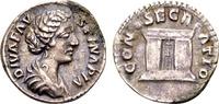 Diva Faustina II, AR Denarius (18mm, 3.05 g) / Ex Lückger SS+  80,00 EUR  +  12,00 EUR shipping