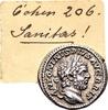 Caracalla AD 198-217, AR Denarius (18mm, 3.06 gram) Rome AD 212 / Ex... 90,00 EUR  +  12,00 EUR shipping