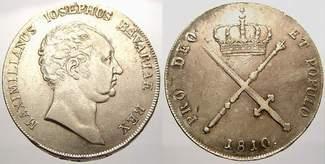 Kronentaler 1810 Bayern Maximilian I. Jose...