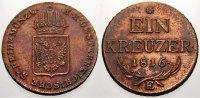 1 Kreuzer 1816  E Haus Habsburg Franz II. (I.) 1792-1835. Sehr selten. ... 275,00 EUR free shipping