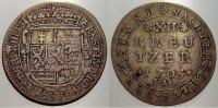 12 Kreuzer 1705 Hessen-Darmstadt Ernst Ludwig 1678-1739. Sehr schön  110,00 EUR  +  5,00 EUR shipping