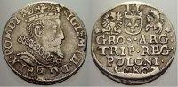 3 Gröscher 1 1607 Polen Sigismund III. 1587-1632. Kl. Stempelfehler, se... 295,00 EUR free shipping