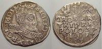 3 Gröscher 1 1597  I Polen Sigismund III. 1587-1632. Selten. Sehr schön... 150,00 EUR  +  5,00 EUR shipping