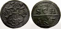 Kupferscherf 1589 Mecklenburg-Güstrow Ulrich III. 1556-1603. Selten. Mi... 175,00 EUR  +  5,00 EUR shipping