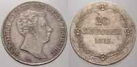 20 Kreuzer 1818 Württemberg Wilhelm I. 1816-1864. Vorzügliches Prachtex... 295,00 EUR free shipping