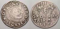 3 Gröscher 1 1581 Polen-Litauen Stefan Bathory 1576-1586. Selten. Sehr ... 195,00 EUR  +  5,00 EUR shipping
