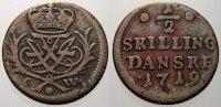 1/2 Skilling Kobber 1719  CW Dänemark Friedrich IV. 1699-1730. Sehr sch... 150,00 EUR  +  5,00 EUR shipping