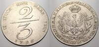 2/3 Taler 1796 Brandenburg-Preußen Friedrich Wilhelm II. 1786-1797. Seh... 695,00 EUR free shipping
