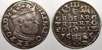 3 Gröscher 1 1585  G Polen Stephan Báthory 1576-1586. Selten, sehr schö... 195,00 EUR  zzgl. 5,00 EUR Versand