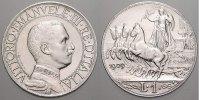 Lira 1909  R Italien-Königreich Vittorio Emanuele III 1900-1946. Stempe... 395,00 EUR kostenloser Versand