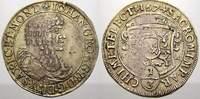 1/3 Taler 1674  CR Sachsen-Albertinische Linie Johann Georg II. 1656-16... 110,00 EUR  Excl. 5,00 EUR Verzending