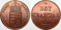 Egy Krajczar 1848 Haus Habsburg Prägungen der Revolutionsjahre 1848-184... 80,00 EUR  zzgl. 5,00 EUR Versand