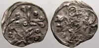 Denar 1264-1278 Pommern Barnim I. 1264-1278. Selten. Kl. Doppelschlag, ... 150,00 EUR  +  5,00 EUR shipping