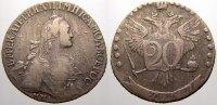 20 Kopeken 1767 Russland Zarin Katharina II. 1762-1796. Sehr schön  195,00 EUR