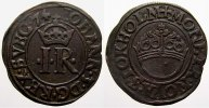 1/2 Öre 1 1574 Schweden Johann III. 1568-1592. Selten. Sehr schön+  195,00 EUR  +  5,00 EUR shipping