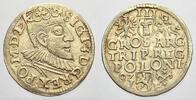 3 Gröscher 1 1592  IF Polen Sigismund III. 1587-1632. Selten in dieser ... 150,00 EUR  +  5,00 EUR shipping