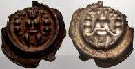 Brakteat um 1250  K Saalfeld, Königliche Münzstätte Friedrich II 1215-1... 300,00 EUR free shipping
