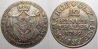 1/12 Taler (Doppelgroschen) 1789 Reuss, ältere Linie zu Obergreiz Heinr... 175,00 EUR  +  5,00 EUR shipping