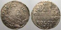 3 Gröscher 1 1598 Polen Sigismund III. 1587-1632. Selten. Kl. Prägeschw... 125,00 EUR  +  5,00 EUR shipping