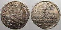 3 Gröscher 1 1591 Polen-Litauen Sigismund III. 1587-1632. Seltenes Jahr... 250,00 EUR kostenloser Versand