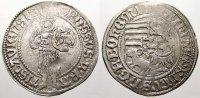 Schlesien-Breslau, Fürstentum Groschen Matthias Corvinus, König von Ungarn 1469-1479.