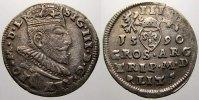 3 Gröscher 1 1590 Polen-Litauen Sigismund III. 1587-1632. Sehr schön+  125,00 EUR  +  5,00 EUR shipping