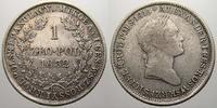 1 Zloty 1832  KG Polen Nikolaus I. von Rußland 1825-1855. Sehr schön+ m... 275,00 EUR free shipping