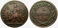 Schweden 1 Daler Silvermynt Karl XII. 1697-1718.