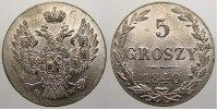 5 Groszy 1840  MW Polen Nikolaus I. von Rußland 1825-1855. Selten in di... 250,00 EUR free shipping