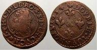 Cu Double Tournois 1634 Löwenstein-Wertheim-Rochefort Johann Theodor 16... 125,00 EUR  +  5,00 EUR shipping