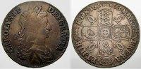 Silver Crown 1663 Großbritannien Charles II. 1660-1685. Selten. Schön-s... 300,00 EUR kostenloser Versand