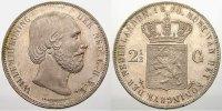 2 1/2 Gulden 1870 Niederlande Willem III. 1849-1890. Vorzüglich-stempel... 200,00 EUR  +  5,00 EUR shipping