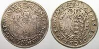 1/2 Taler 1599  HB Sachsen-Albertinische Linie Christian II. und seine ... 250,00 EUR