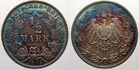 1/2 Mark 1909  E Kleinmünzen  Feinstes stempelglanz von EA mit schöner ... 70,00 EUR