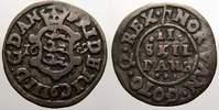 2 Skilling 1649 Dänemark Friedrich III 1648-1670. Sehr schön  50,00 EUR  + 5,00 EUR frais d'envoi