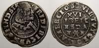 1/16 Taler 1653 Schleswig-Holstein-Gottorp Friedrich III. 1616-1659. Kl... 35,00 EUR  zzgl. 5,00 EUR Versand