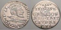 3 Gröscher 1 1592 Riga, Stadt Sigismund III. 1587-1632. Prägefrisches P... 150,00 EUR  +  5,00 EUR shipping