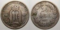 50 Öre 1 1877 Schweden Oskar II. 1872-1907. Sehr schön  125,00 EUR  +  5,00 EUR shipping