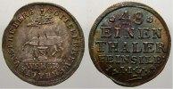 1/48 Taler 1748 Stolberg-Stolberg Christoph Ludwig und Friedrich Botho ... 110,00 EUR  +  5,00 EUR shipping