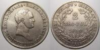 2 Zloty 1830  FH Polen Nikolaus I. von Rußland 1825-1855. Min. justiert... 650,00 EUR free shipping