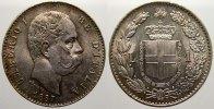 Lira 1887 Italien-Königreich Umberto I. 1878-1900. Min. Kratzer. Fast s... 125,00 EUR  +  5,00 EUR shipping