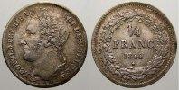 1/4 Franc 1844 Belgien, Königreich Leopold I. 1831-1865. Sehr schön-vor... 180,00 EUR  +  5,00 EUR shipping