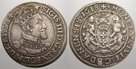 1/4 Taler (Ort) 1618 Danzig, Stadt Sigismund III. 1587-1632. Seltene Va... 195,00 EUR  zzgl. 5,00 EUR Versand